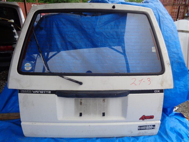 Дверь задняя Nissan Vanette VUJNC22 (б/у)