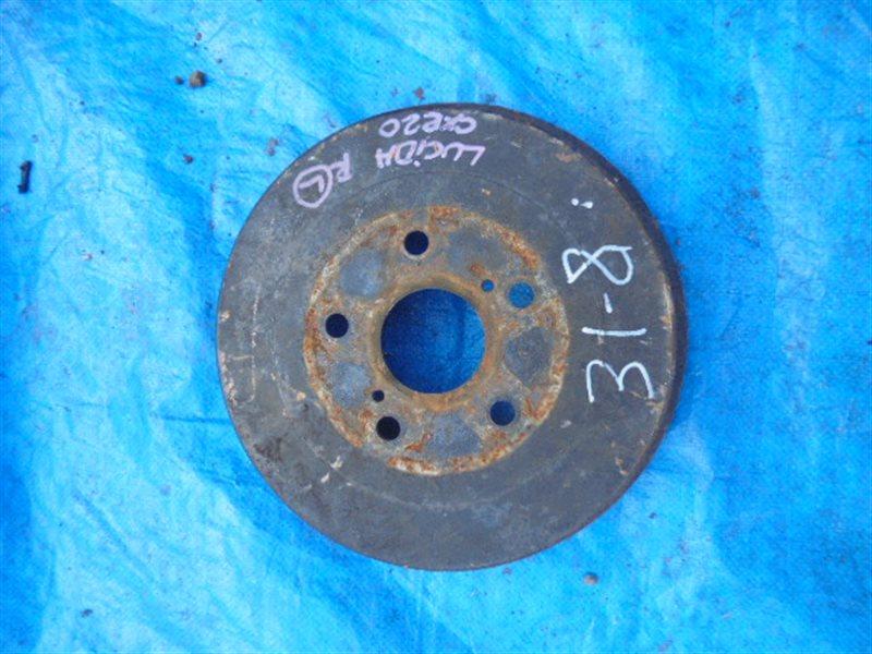 Тормозной барабан Toyota Lucida CXR20 3C-T задний (б/у)