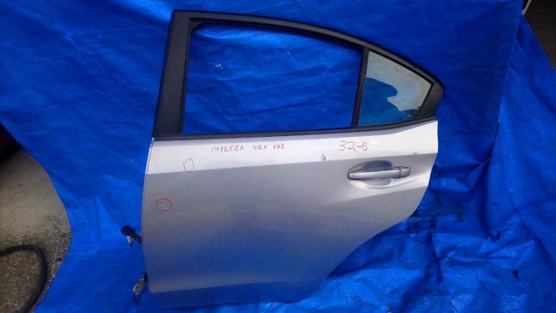 Дверь Subaru Impreza Wrx VAB EJ20Y задняя левая в сборе как на фото (б/у)
