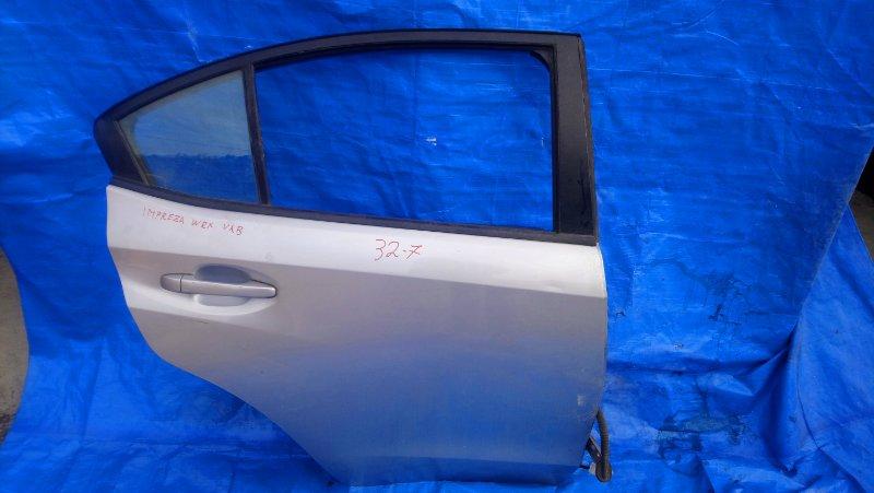 Дверь Subaru Impreza Wrx VAB EJ20Y задняя правая (б/у)
