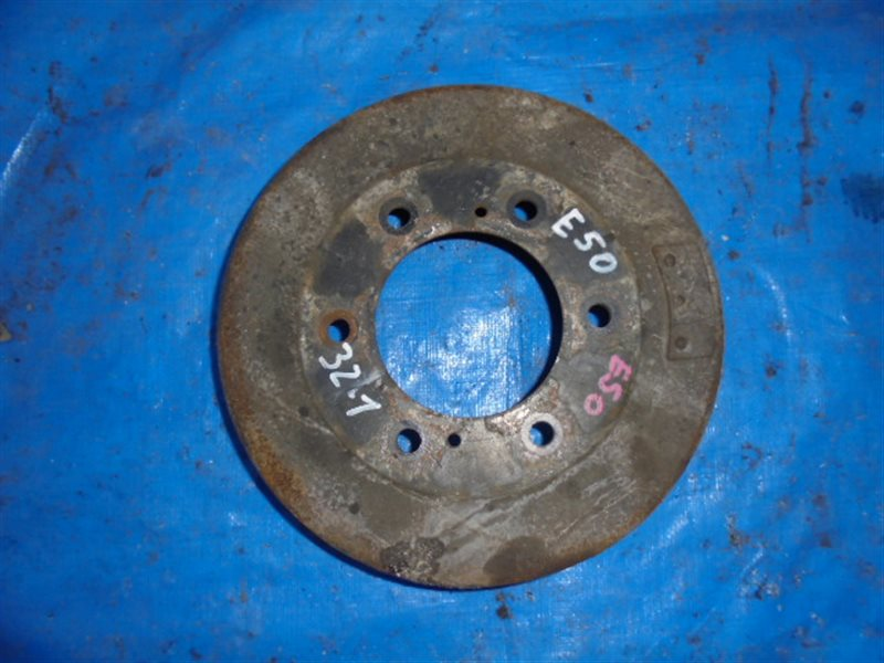 Тормозной барабан Nissan Elgrand ATE50 ZD30DD задний правый (б/у)