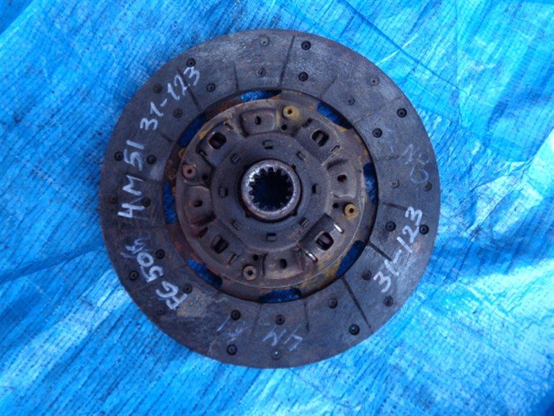 Диск сцепления Mitsubishi Canter FG50EB 4M51 (б/у)