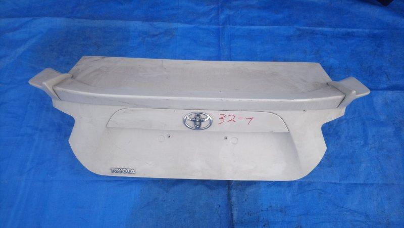 Крышка багажника Toyota Gt86 ZN6 FA20 (б/у)
