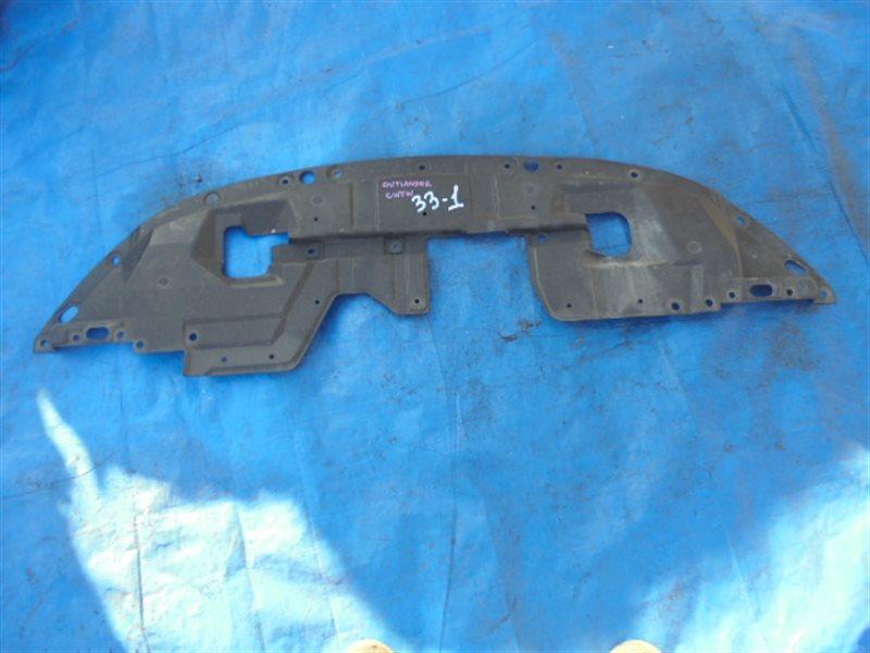 Защита бампера Mitsubishi Outlander CW5W 4B12 передняя (б/у)