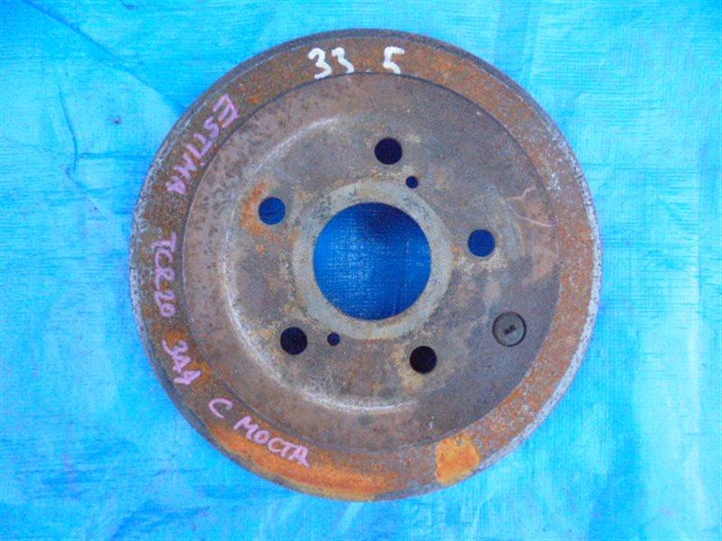 Тормозной диск Toyota Estima TCR20 2TZ-FE задний (б/у)
