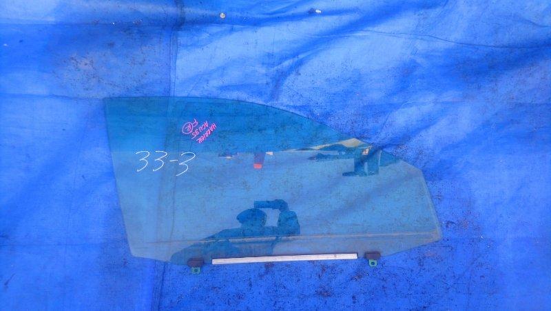 Стекло двери Toyota Harrier ACU35 2AZ-FE переднее правое (б/у)