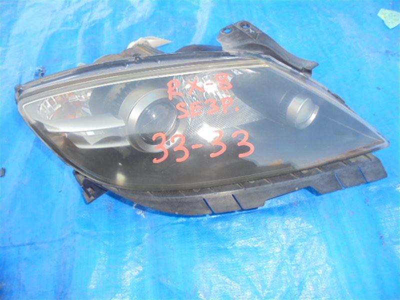 Фара Mazda Rx-8 SE3P 13B правая 100-61012 (б/у)