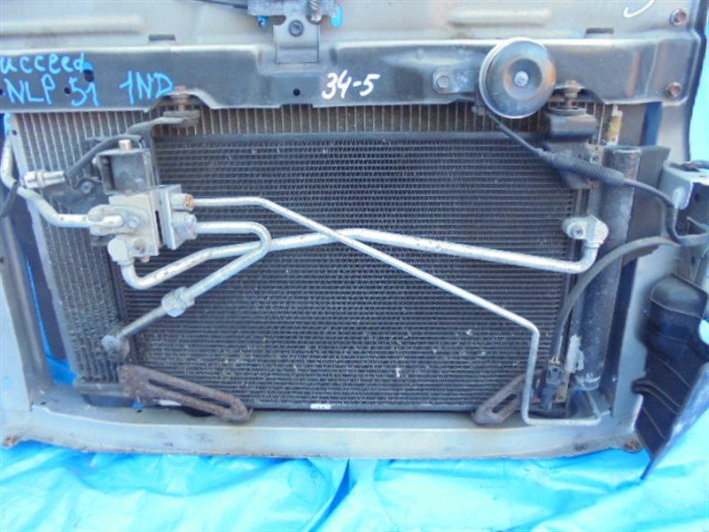 Радиатор кондиционера Toyota Succeed NCP51 1ND-TV (б/у)