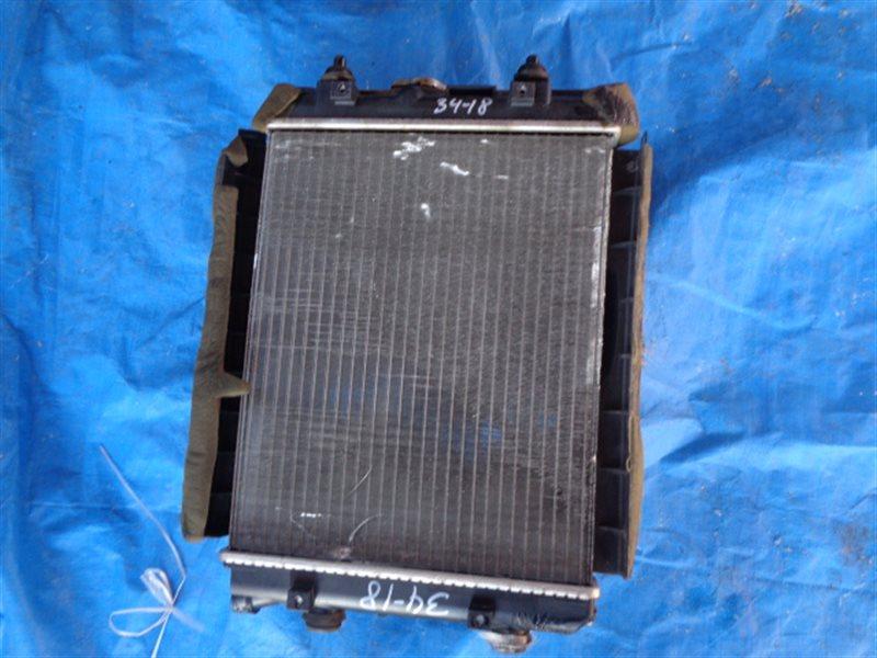 Радиатор основной Toyota Passo KGC35 1KR-FE (б/у)