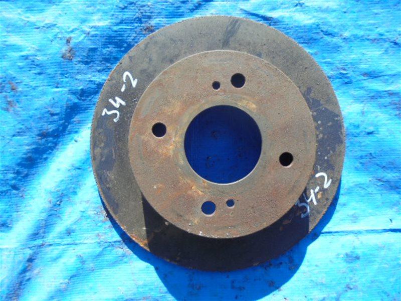 Тормозной диск Nissan Prairie Joy PNM11 SR20DE задний (б/у)