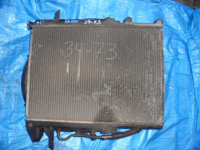 Радиатор основной Mazda Bongo Brawny SR5AV WL (б/у)