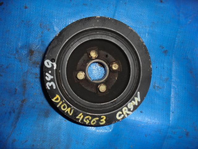 Шкив коленвала Mitsubishi Dion CR9W 4G63 (б/у)