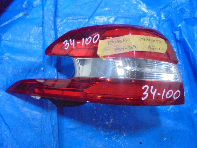 Стоп-сигнал Peugeot 308 T9WHN02 2014 левый (б/у)