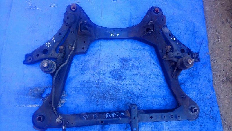 Подушка двигателя Lexus Rx450H GYL15 2GR-FXE правая (б/у)