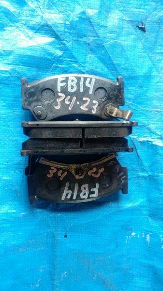 Колодки тормозные Nissan Sunny FB14 GA15DE (б/у)
