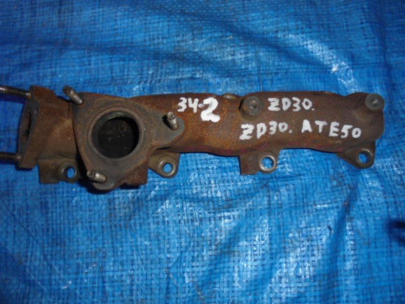 Коллектор выпускной Nissan Elgrand ATE50 ZD30DDTI (б/у)