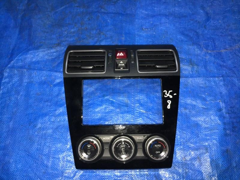 Блок управления климат-контролем Subaru Impreza Xv GJ2 FB20 II MODEL (б/у)
