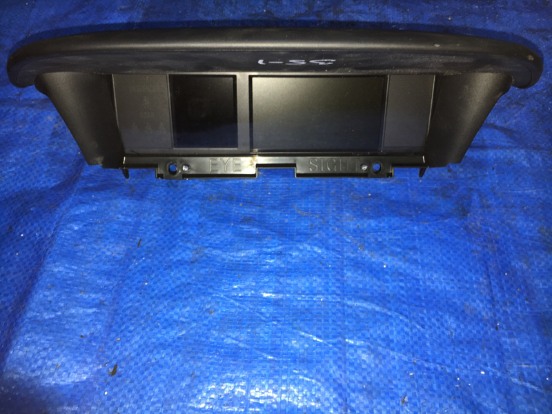 Монитор Subaru Forester SJ5 FB20 (б/у)