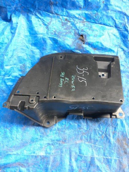 Защита бампера Toyota Prius Prime ZVW52 2ZR-FXE задняя левая (б/у)