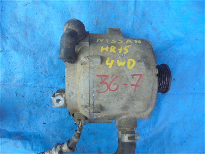 Генератор Nissan Bluebird Sylphy NG11 HR15DE 296D0-ED300, LR945-903 (б/у)