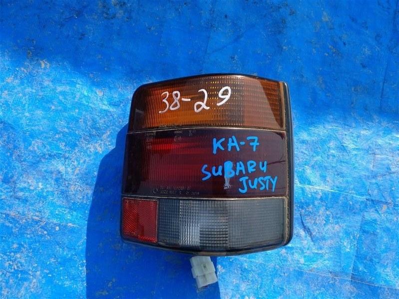 Стоп-сигнал Subaru Justy KA7 EF12 правый 4447 (б/у)