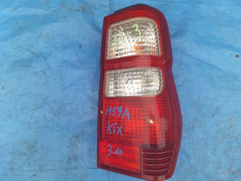 Стоп-сигнал Nissan Kix H58A 4A30T правый 1333 (б/у)