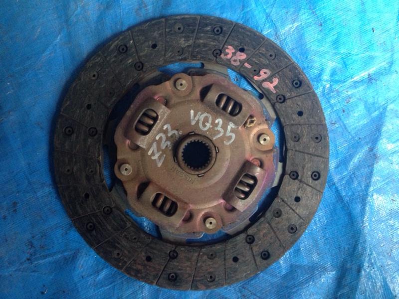 Диск сцепления Nissan Fairlady Z Z33 VQ35DE (б/у)