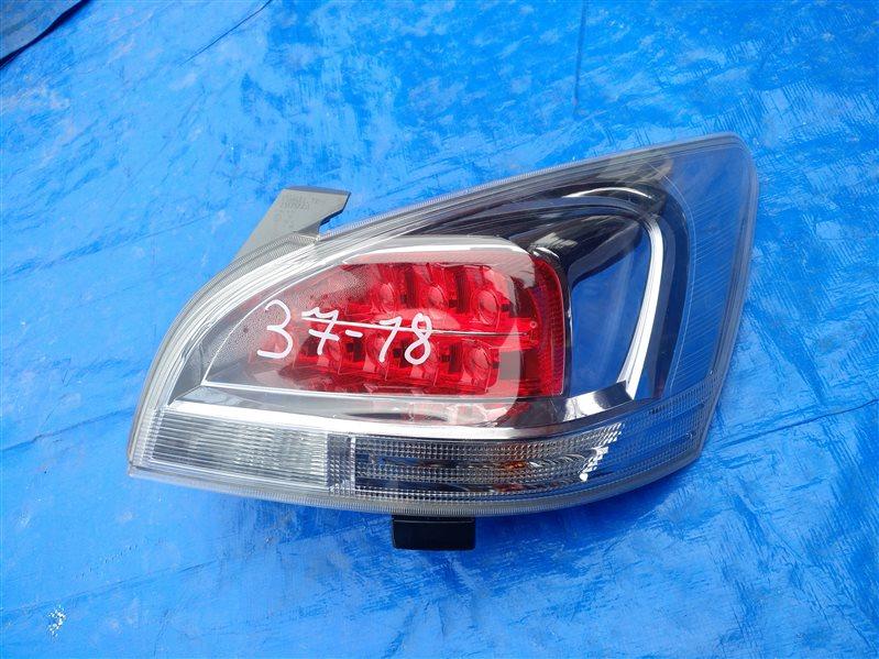 Стоп-сигнал Toyota Mark X Zio ANA10 правый 72-4 (б/у)