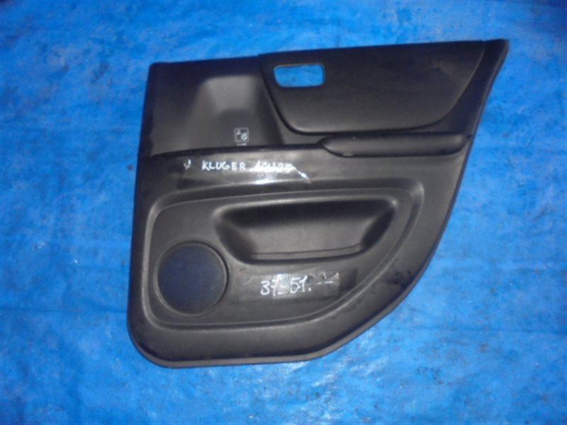 Обшивка дверей Toyota Kluger ACU25 2AZ-FE задняя правая (б/у)