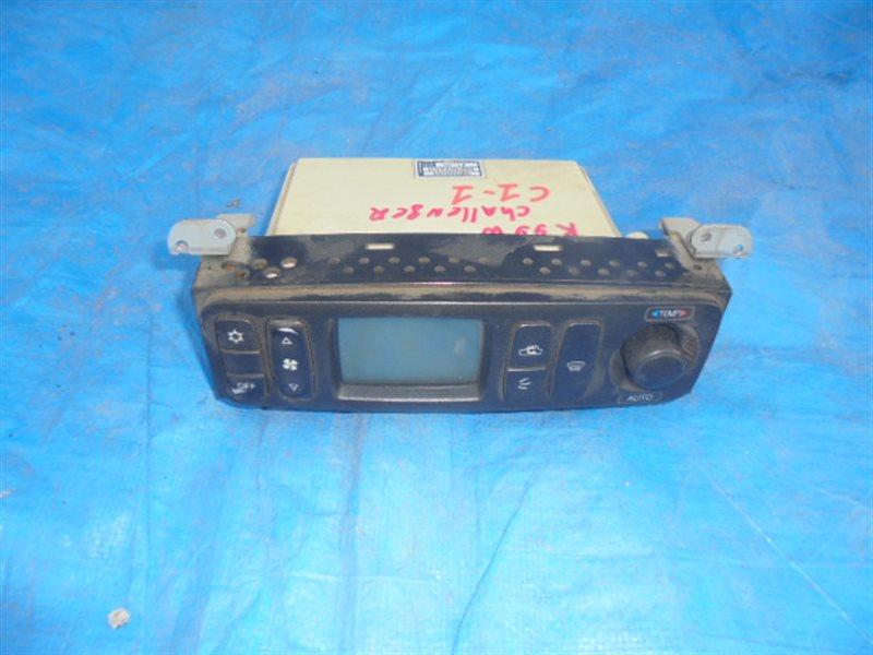 Блок управления климат-контролем Mitsubishi Challenger K99W 6G74 1999 (б/у)