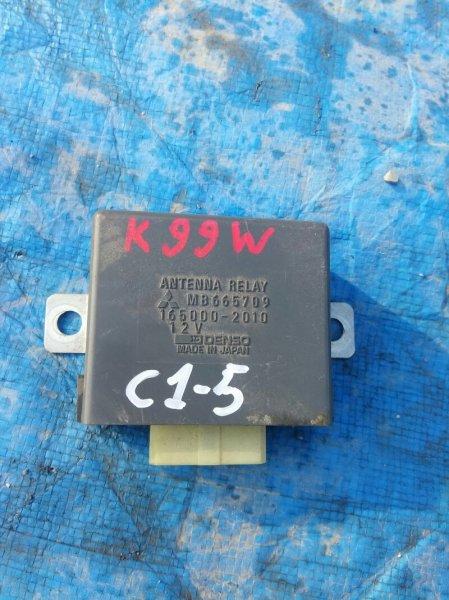 Электронный блок Mitsubishi Challenger K99W 6G74 1999 MB665709 (б/у)