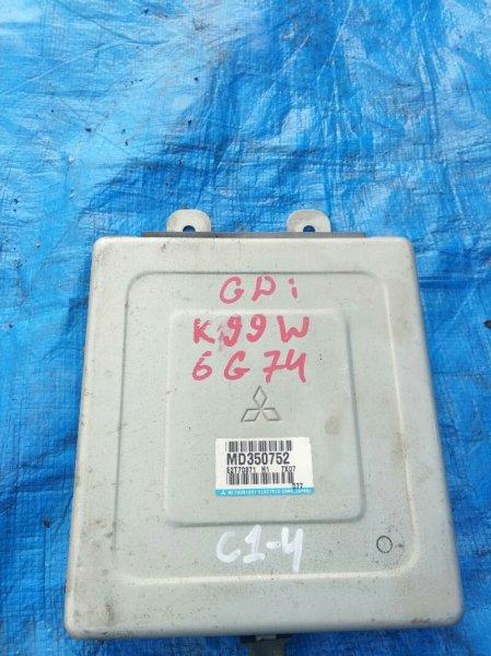 Блок управления акпп Mitsubishi Challenger K99W 6G74 1999 MD350752 (б/у)