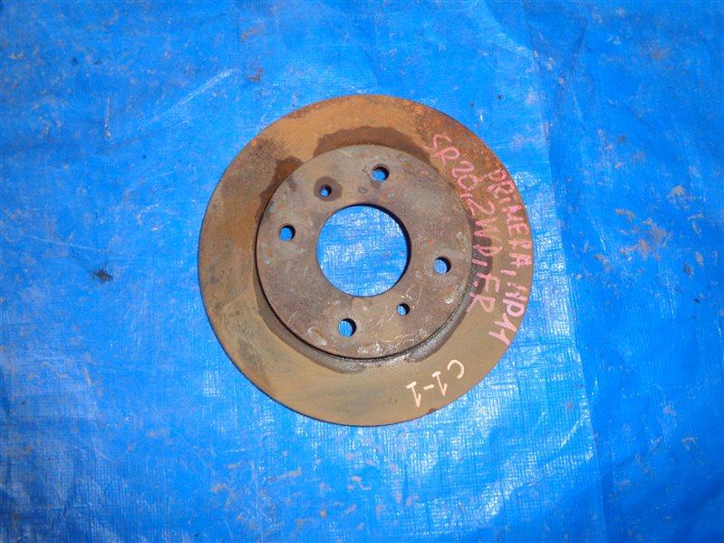 Тормозной диск Nissan Primera HP11 передний (б/у)