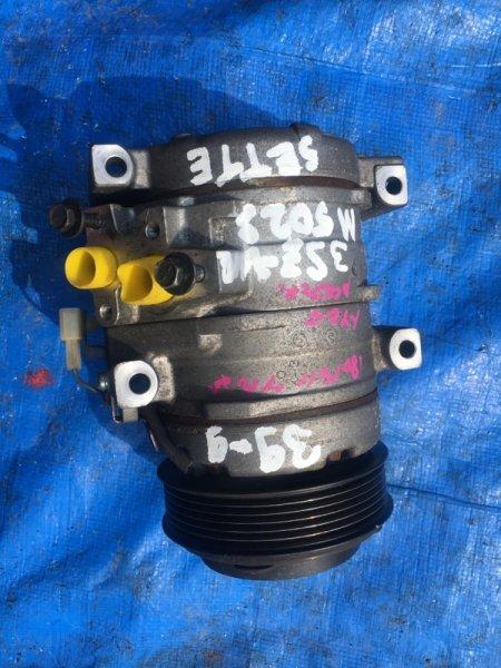 Компрессор кондиционера Toyota Passo Sette M502E 3SZVE 447220-5061 (б/у)