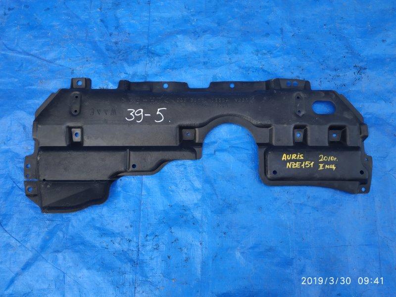 Защита двигателя Toyota Auris NZE151 1NZ-FE II MODEL (б/у)