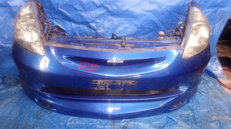 Nose cut Honda Fit GD3 L15A A-7 MUGEN (б/у)