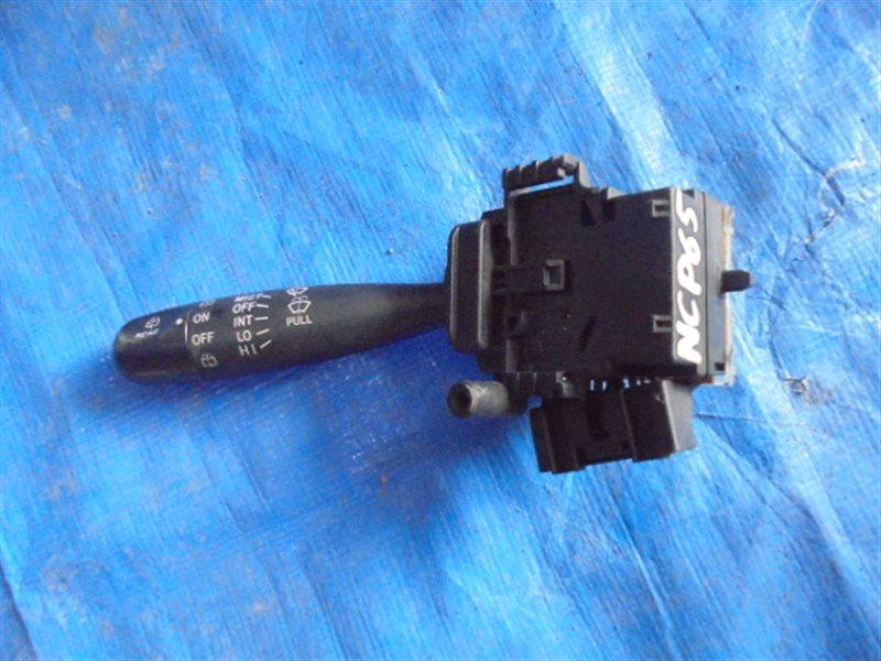 Блок подрулевых переключателей Toyota Ist NCP65 1NZ-FE левый (б/у)