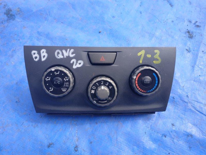 Блок управления климат-контролем Toyota Bb QNC20 K3 (б/у)