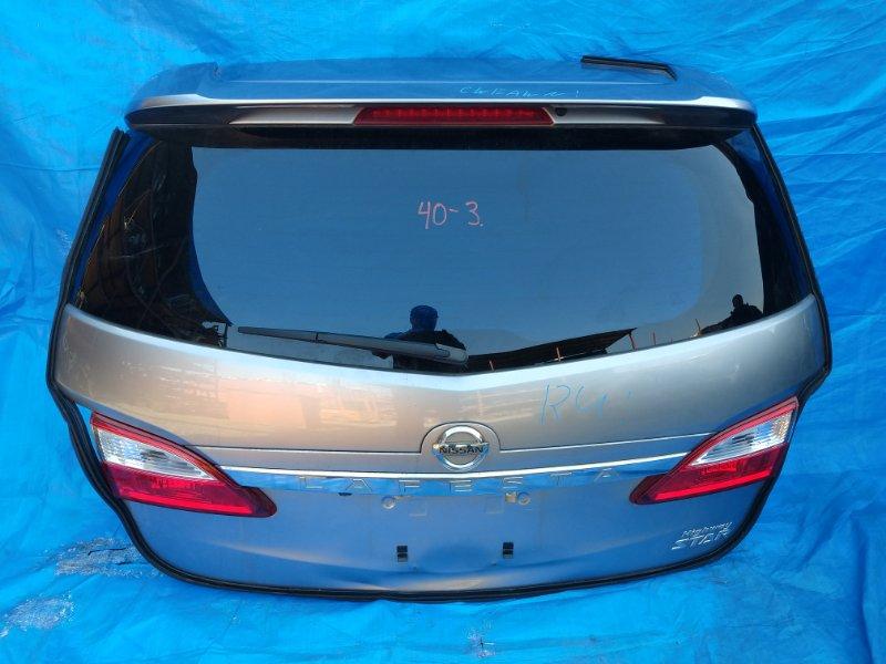 Дверь задняя Nissan Lafesta CWEFW LF (б/у)