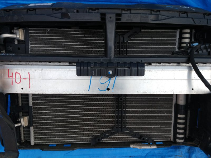 Радиатор кондиционера Peugeot 308 T9 2014 2014-2018 (б/у)