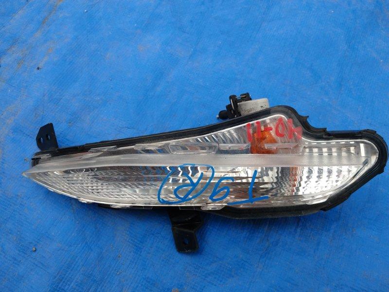 Повторитель бамперный Peugeot 308 T9 правый 96780 392 80D (б/у)