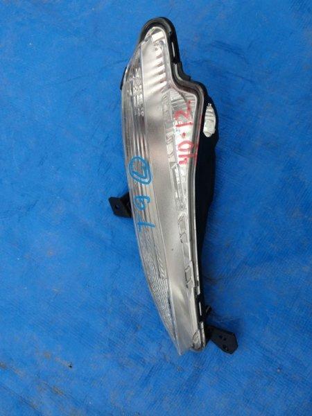Повторитель бамперный Peugeot 308 T9 левый 96780 392 80D (б/у)