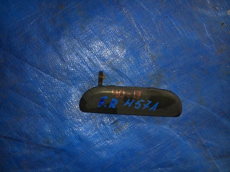 Ручка двери Mitsubishi Pajero Junior H57A 4A31 передняя правая (б/у)
