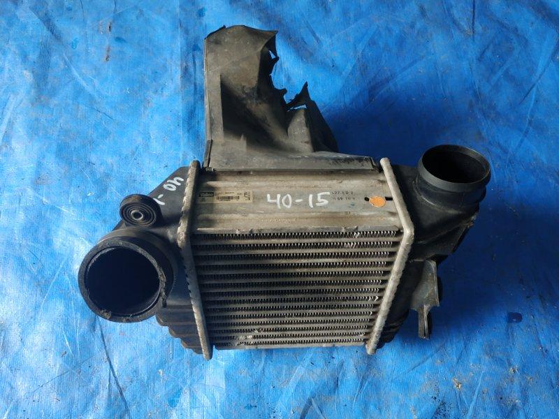 Радиатор интеркулера Volkswagen Golf MK4 AGU (б/у)