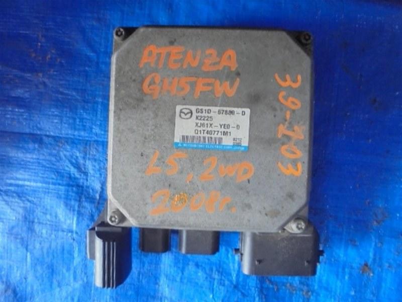 Блок управления рулевой рейкой Mazda Atenza GH5FW L5-VE GS1D67889 (б/у)