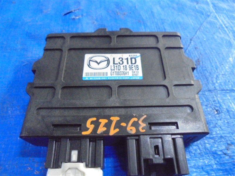 Блок управления акпп Mazda Atenza GG3S L3 L31D189E1B (б/у)