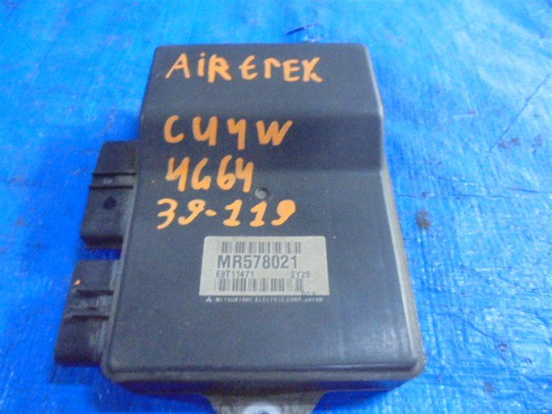 Блок управления форсунками Mitsubishi Airtrek CU4W 4G64 E8T11471, MR578021 (б/у)