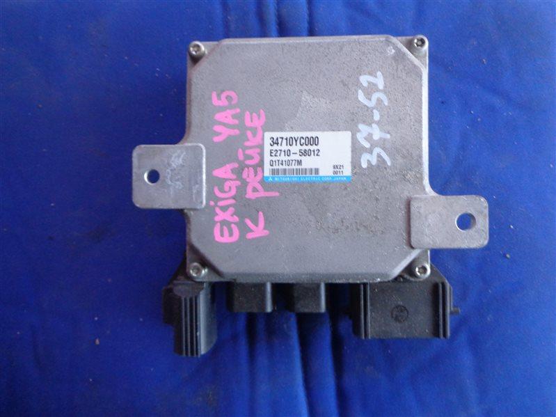 Блок управления рулевой рейкой Subaru Exiga YA5 EJ20 34710YC000 (б/у)