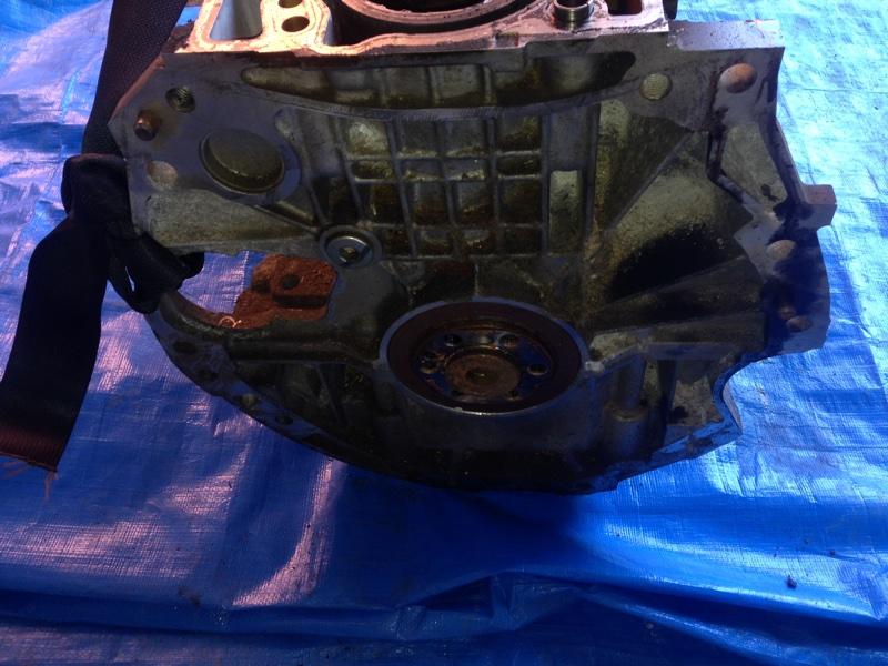 Блок двигателя Nissan Lafesta B30 MR20DE (б/у)