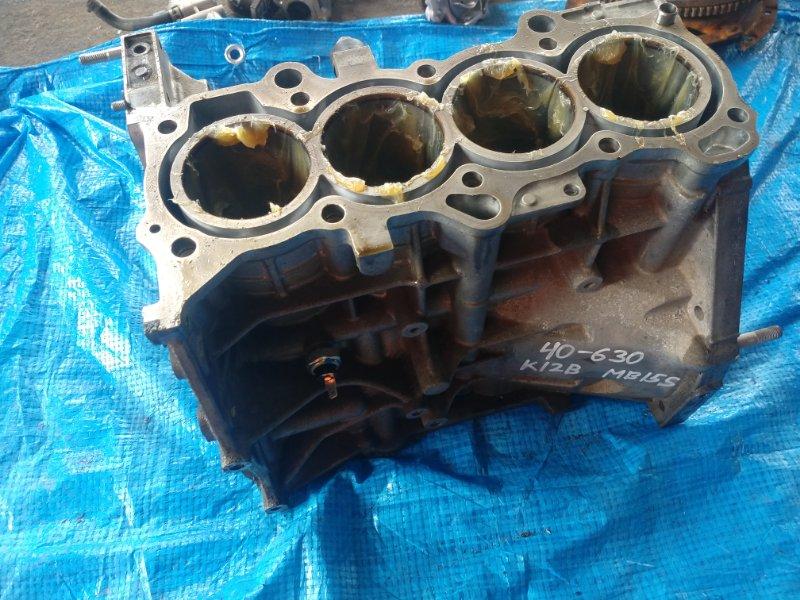 Блок двигателя Mitsubishi Delica D2 MB15 K12B (б/у)